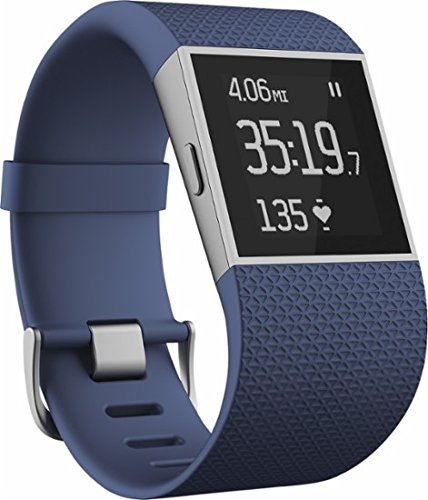 Fitbit - Surge Fitness Watch (Small) - Blue (International Version) by Fitbit