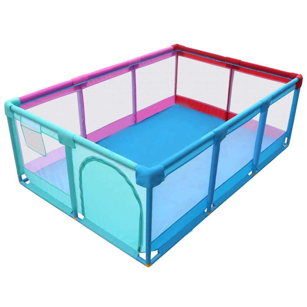 大きいサイズ 赤ちゃん ベビーサークル 幼児 フェンス 家庭用飛散防止おもちゃ キッズ 遊び場 安全性 活動センター   B07TQ7Y3PR