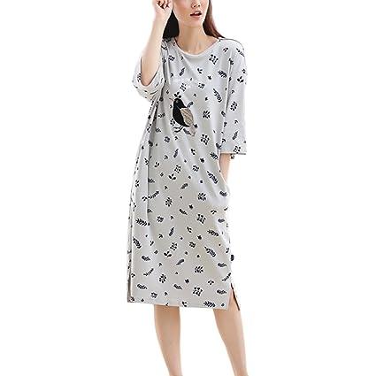 d4ac5a98a5 Women s Pajamas Cute Sleep Skirt Dresses Home Clothing ( Color   Gray