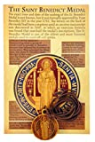 Olive Wood St Benedict Medal on a Cord with