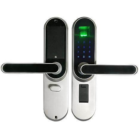 WJS Manija de cerraduras electrónicas Cerradura de Puerta ...