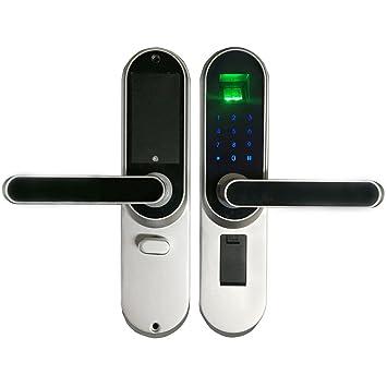 WEN Manija de cerraduras electrónicas Cerradura de Puerta Inteligente Establezca la Puerta de Interior Cerradura Inteligente