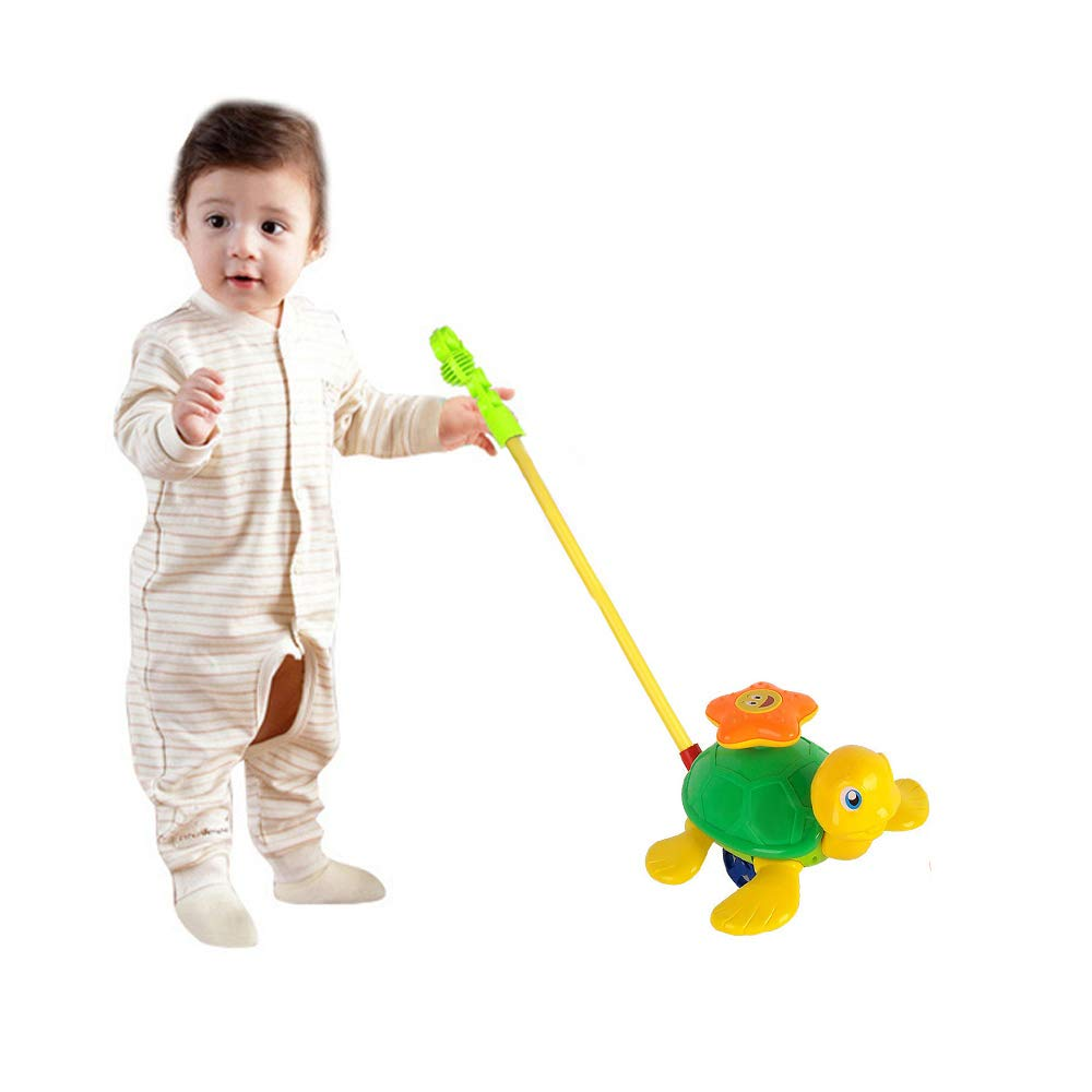 0f3c67fe26d6 O-Toys Baby Push and Pull Toy Funny Turtle Push Walker for Kids ...