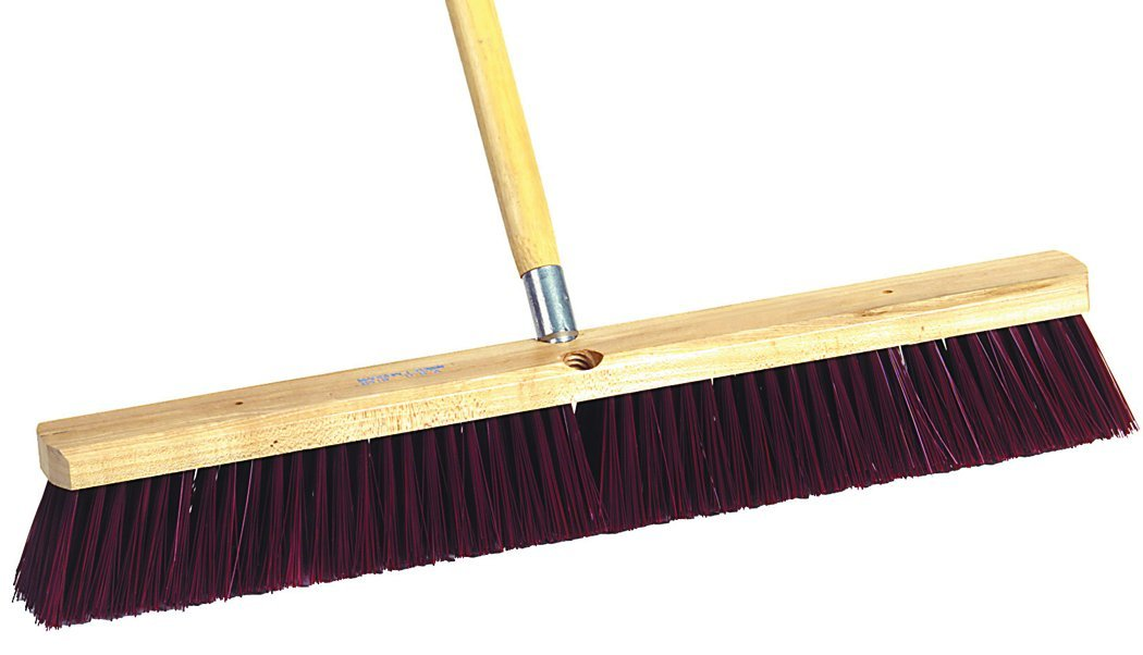 MARSHALLTOWN The Premier Line 6419 24-Inch Rough Surface Floor Broom with 60-Inch Threaded Handle by MARSHALLTOWN The Premier Line