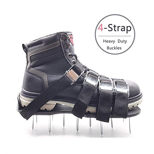 aéroportives 4 votr zinc Spikes sangles ou taille à et à réglables universelle chaussures bottes gazon Chaussures boucles de d'alliage Sandales Meiwo ouvrez les qui toutes d'aérodrome avec s'adapte w8pzqZX