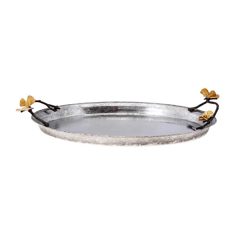 Michael Aram Butterfly Ginkgo Oval Tray