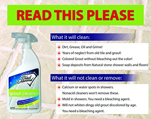 Ultimate Grout Cleaner Best Cleaner For Tileceramicporcelain Marble Acid Free Safe Deep Cleaner Stain Remover For Even The Dirtiest Grout