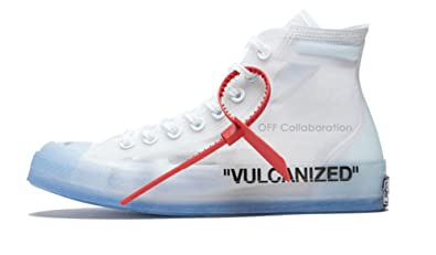 5b779118676 All Star Luxury White Most Hottest Chuck Canvas Sneaker Translucent Upper  Vulcanized Sole Women US5