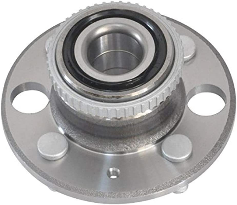SCITOO Wheel Axle Wheel Bearing Assembly Kit 1 Pack Fits 1990-2001 Acura Integra Rear Axle Wheel Bearing With 4 Lugs 513105
