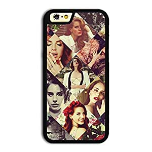 TPU iPhone 6 case protective skin cover with American Pop Singer Lana Del Rey pretty design #14