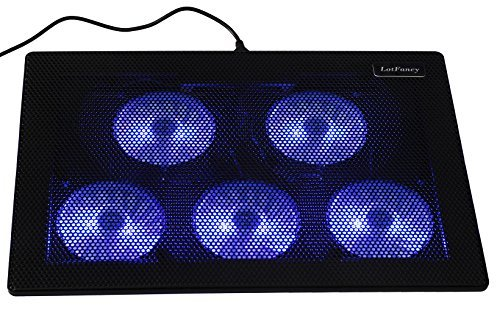 LotFancy Laptop Cooling Pad Adjustable