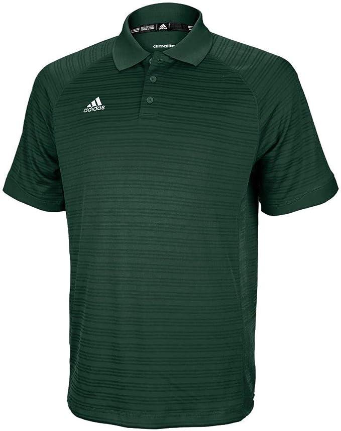 adidas 3-Stripes Polo Collegiate Green//Grey X-Large