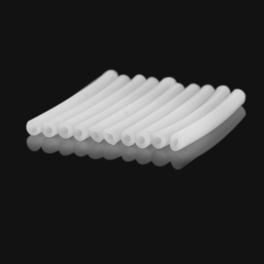 SHiZAK 10 piezas 4 cm 3d impresora Tubo de PTFE para ...