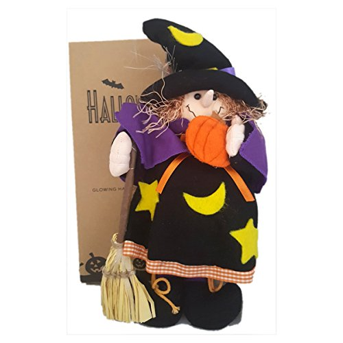 Avon Fiber Optic Glowing Halloween Plushees Witch
