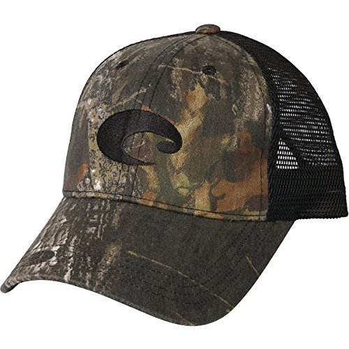 Pro Trucker Hat - Costa Del Mar Mesh Hat, Mossy Oak New Breakup Camo/Black