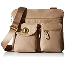 Baggallini Sydney Travel Crossbody Bag Gold Hardware, Beach, One Size