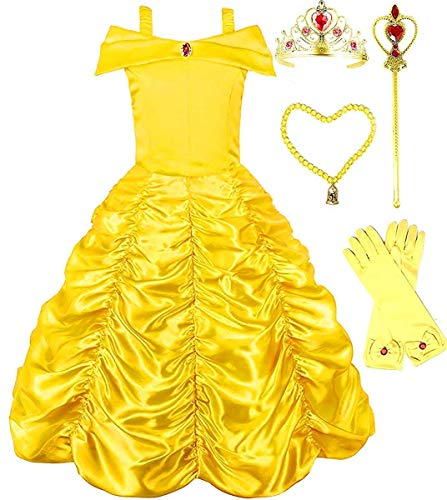 Belle Princess Dress - Romy's Collection Princess Belle Yellow Party