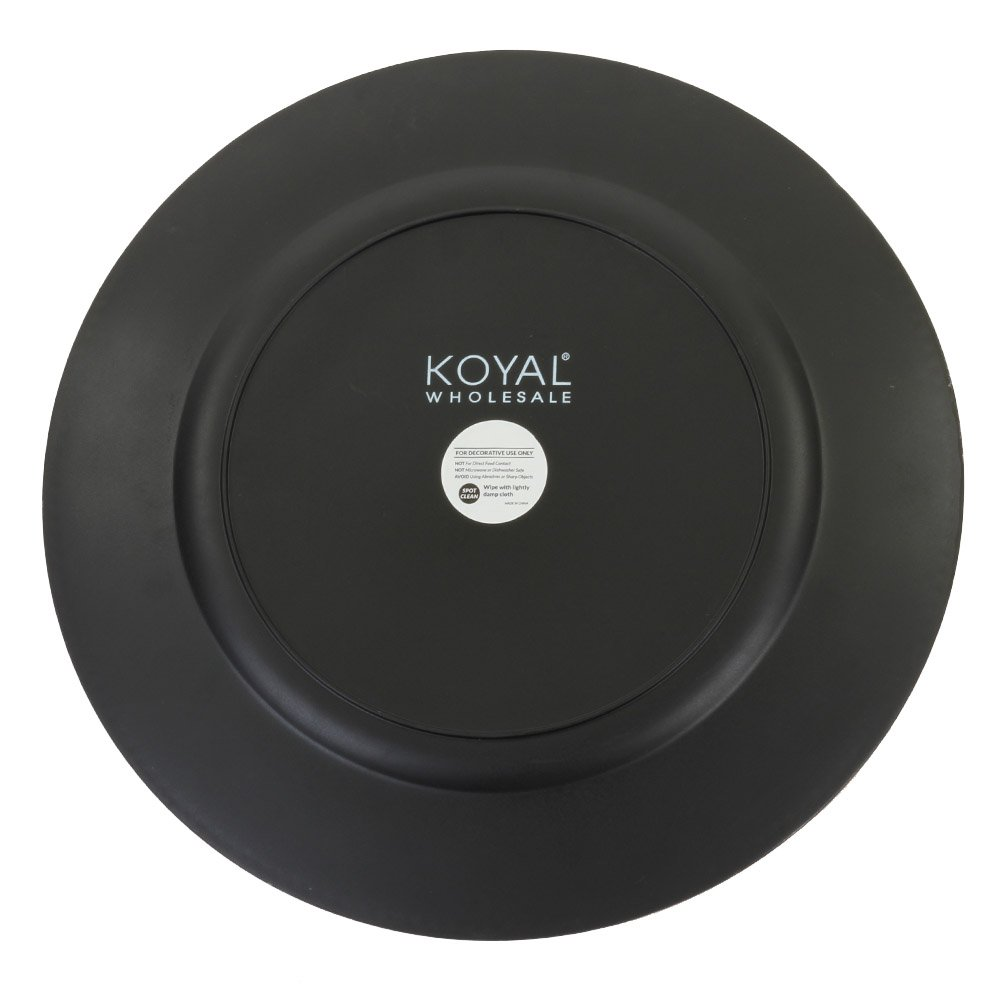 Koyal Wholesale Charger Plates, Rose Gold (Pack of 4) by Koyal Wholesale (Image #3)