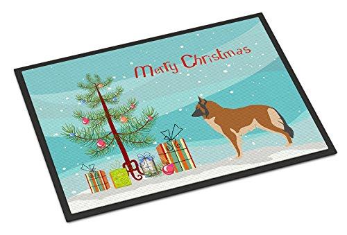 Caroline's Treasures Belgian Tervuren Christmas Doormat, 24hx36w, Multicolor