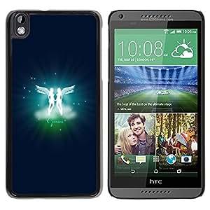 LECELL -- Funda protectora / Cubierta / Piel For HTC DESIRE 816 -- Gemini Twins Zodiac Sign --