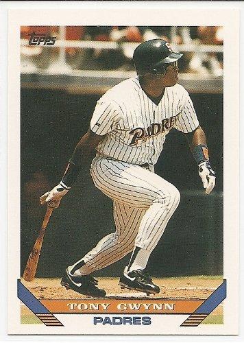 - Tony Gwynn 1993 Topps San Diego Padres Card #5