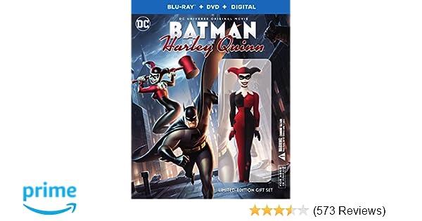 4a01724fac56 Amazon.com  Batman   Harley Quinn Deluxe Edition (Blu-ray + DVD +  UltraViolet Combo)  Sam Liu