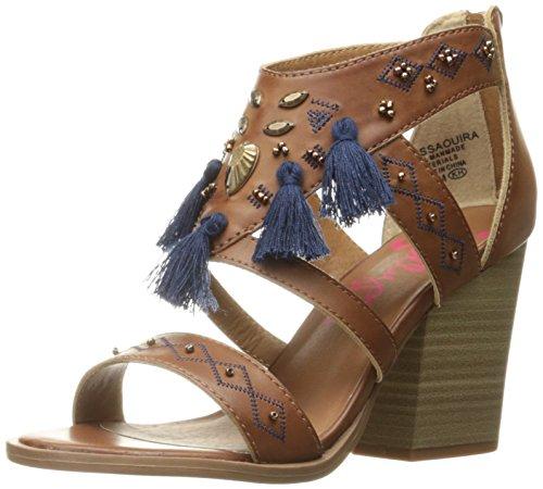Jellypop Women's Essaouira Heeled Sandal - Tan Smooth - 9...
