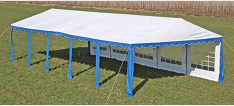 FZYHFA Pérgola de Fiesta 10 x 5 m Azul Carpa Plegable Carpa Eurolandia Carpa Impermeable: Amazon.es: Jardín