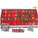 Il Nuovo Mondo Chiavi Lucy Fairy Tail Spiriti stellari Set Deluxe Extra Plus