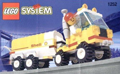 Lego City Mini Figure Set #1252 Shell Tanker ()