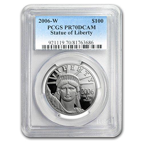 2006 W 1 oz Proof Platinum American Eagle PR-70 PCGS 1 OZ PR-70 PCGS