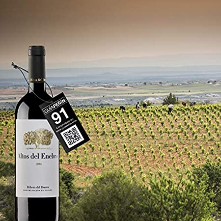 Bodegas Altos del Enebro - D.O. Ribera del Duero - Vino Altos del Enebro (crianza 15 meses en barrica) - Botella de 750 ml