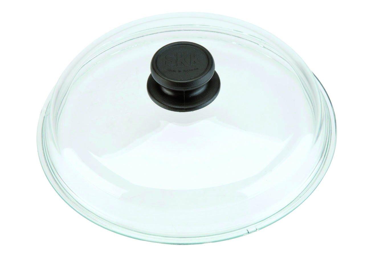 SKK Multipurpose 12.5'' Glass Lid for Pans Pyrex Made in France