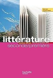 Litterature, seconde-premiere : toutes series
