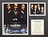 Goodfellas 11'' X 14'' Unframed Matted Photo Collage By Legends Never Die, Inc. - II