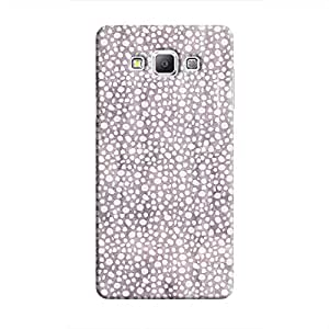 Cover It Up - Purple Pebbles Mosaic Galaxy A7 Hard Case