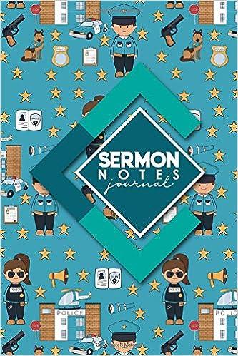Sermon Notes Journal: Sermon Books, Sermon Workbook, Sermon