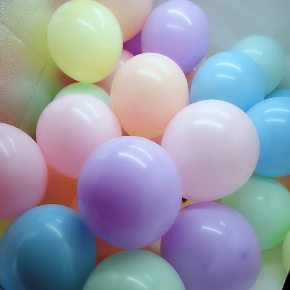gzzebo Globos de l/átex de Color Mezclado de 10 Pulgadas para Boda decoraci/ón de Fiesta de cumplea/ños 100 Piezas Color Mezclado