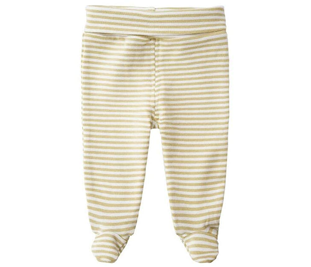 Alsmiley Unisex-Baby Cotton High Waist Footed Pant Casual Leggings