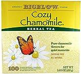 Bigelow Cozy Chamomile Herbal Tea, 100 count box