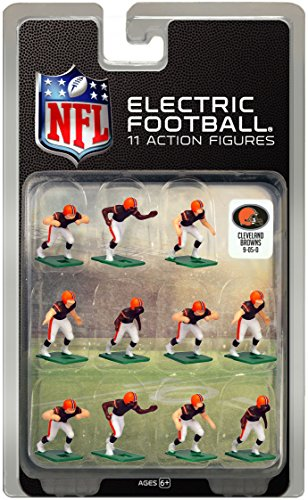 Cleveland Browns Dark Uniform NFL Action Figure Set