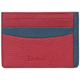 Laveri Card and Bill Holder Wallet for Unisex - Leather, Multi Color