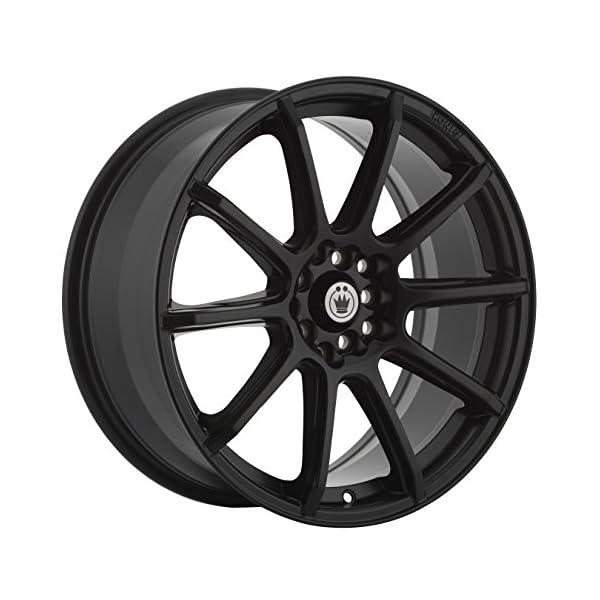 Konig-CONTROL-Matte-Black-Wheel-17x75x100mm-45mm-offset