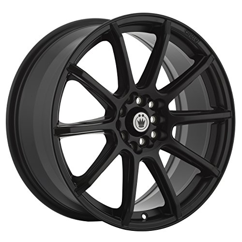 (Konig CONTROL Matte Black Wheel with Painted Finish (15 x 6.5 inches /5 x 100 mm, 40 mm Offset))