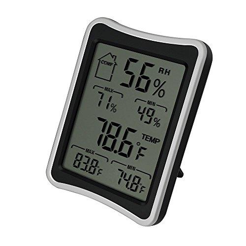 Humidity Monitor Thermometer Digital Hygrometer