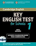 Cambridge KET for Schools 1 Self-study Pack (Student's Book with Answers and Audio CD): Official Examination Papers from University of Cambridge ESOL Examinations (KET Practice Tests)