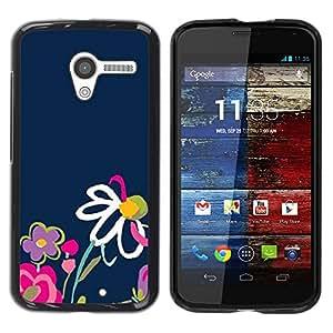 Be Good Phone Accessory // Dura Cáscara cubierta Protectora Caso Carcasa Funda de Protección para Motorola Moto X 1 1st GEN I XT1058 XT1053 XT1052 XT1056 XT1060 XT1055 // Child Draw