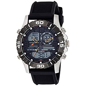 Fastrack Analog-Digital Orange Dial Men's Watch-NL38035SP03