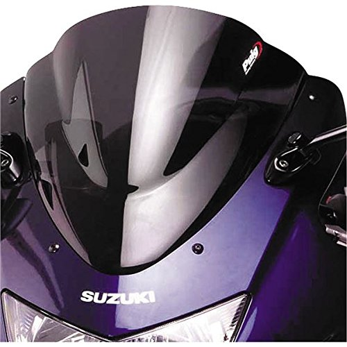Puig Race Windscreen Dark Smoke for Suzuki GSX650F 08-09 - Puig Race