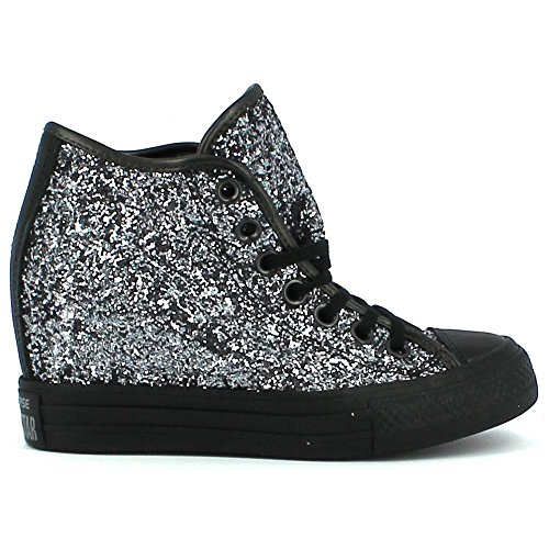 5 Chaussures Star coin Converse Lux All Argent 38 Converse de Argent Mid Interne 6TqaBqnxw